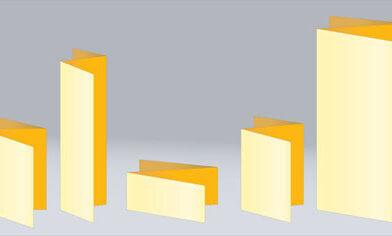 Печать буклетов нестандартных форматов