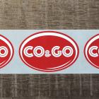 Печать наклеек для CO&GO