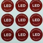Плоттерная резка LED