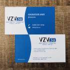 Печать визиток для VZV